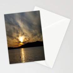 Let's watch the sun go down Stationery Cards