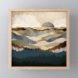 Golden Vista Framed Mini Art Print