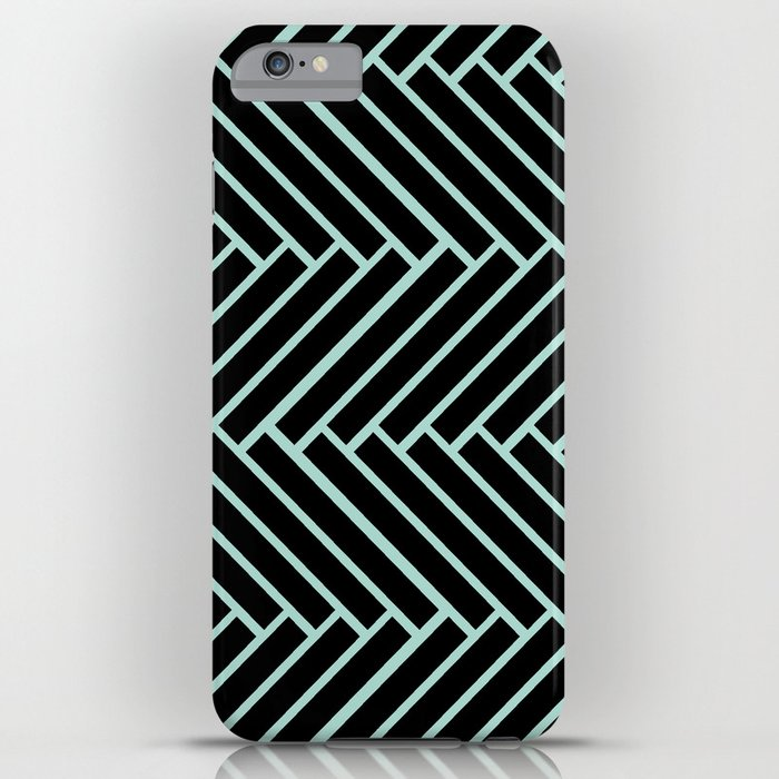 Criss Cross. iPhone Case