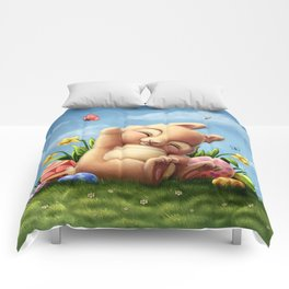 A little Easter bunny Comforters