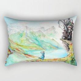 """""""Into my dreams"""" Rectangular Pillow"""