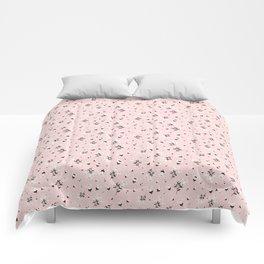 Dusty Pink Autumn Florals Comforters