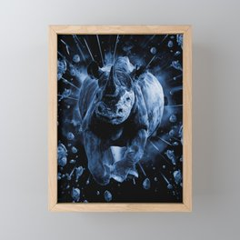 CHARGE!!! Framed Mini Art Print