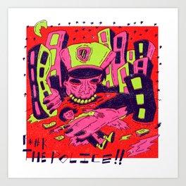 Maniac Cop X N.W.A. Art Print