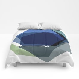 Serenity Hexagons Comforters
