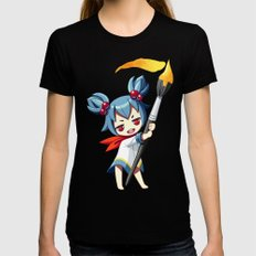 Painter Womens Fitted Tee SMALL Black
