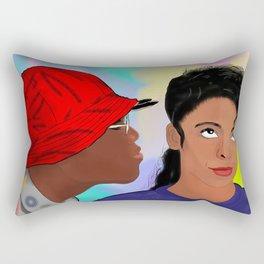 A Different World- Mr. Wayne and Ms. Gilbert Rectangular Pillow