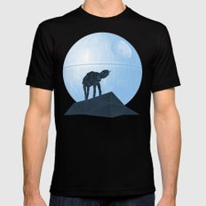 Howl at at the Moon Black LARGE Mens Fitted Tee