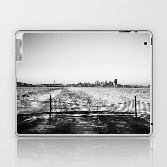 Leaving Seattle Laptop & iPad Skin
