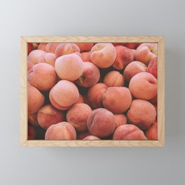 Peaches Framed Mini Art Print