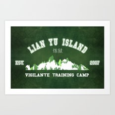 Vigilante Training camp Art Print
