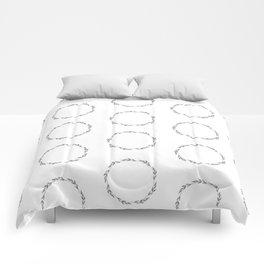 Herbal circles / pattern. Comforters