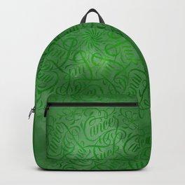 Fuck Cancer Mandala Backpack
