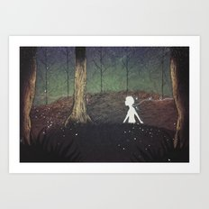 The Paper Forest Art Print