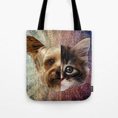 CatDog 2 Tote Bag