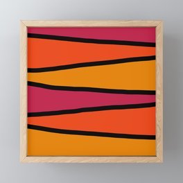Zigzag Framed Mini Art Print