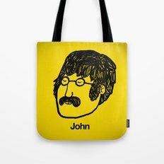 John. Tote Bag