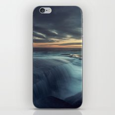 Spilling over the Point iPhone & iPod Skin