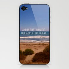 And In That Moment, Our Adventure Began iPhone & iPod Skin