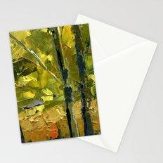 Backlit Aspens Stationery Cards