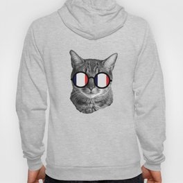 Funny Cat Shirt - France Hoody