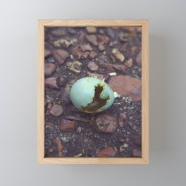 Little Maggot Framed Mini Art Print