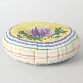 Chrysanthemum Blessing Floor Pillow