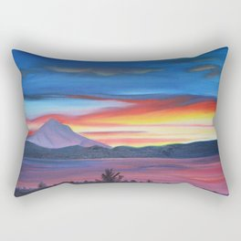 Our Side of The Mountain, Pacific Northwest Mountain Series Rectangular Pillow