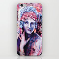 Reine de glace iPhone & iPod Skin