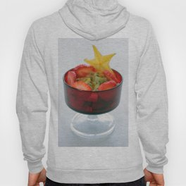 Fruit Salad Photography with happy colorful colors Hoody