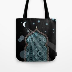 Persia Moonlight Tote Bag