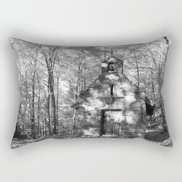 The church on the grounds Rectangular Pillow