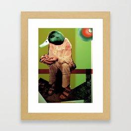 Donovan as Duckster Framed Art Print