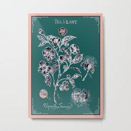 Tree Plant Metal Print