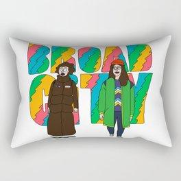 Broad City - Mushrooms Rectangular Pillow