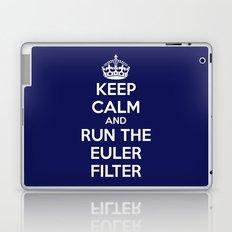 Keep Calm and Run the Euler Filter Laptop & iPad Skin