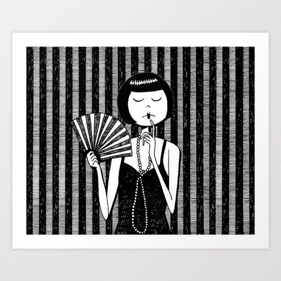Ruby Stevens Art Print