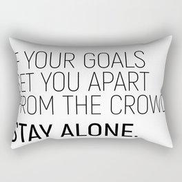 Set Apart #minimalism Rectangular Pillow