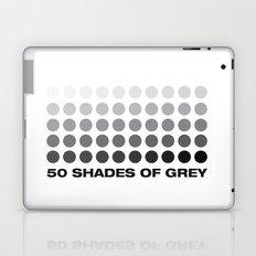 50 shades of grey Laptop & iPad Skin