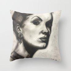 Suspicion  Throw Pillow