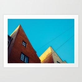 CPH sky Art Print