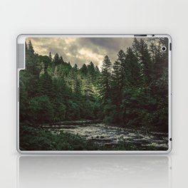 Pacific Northwest River - Nature Photography Laptop & iPad Skin