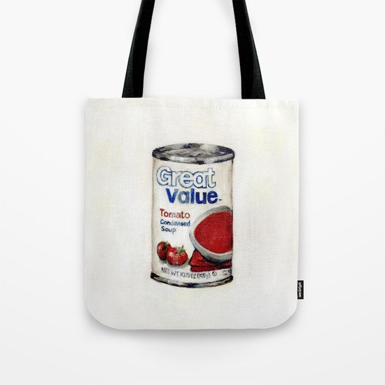 Great Value Tomato Soup Tote Bag