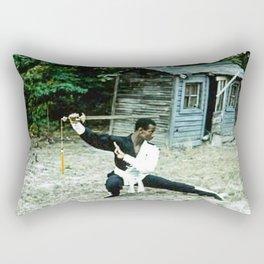 The Swordsman Rectangular Pillow