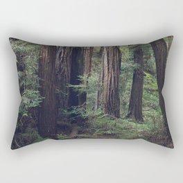 The Redwoods at Muir Woods Rectangular Pillow
