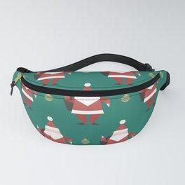 Origami Santa (Patterns Please) Fanny Pack