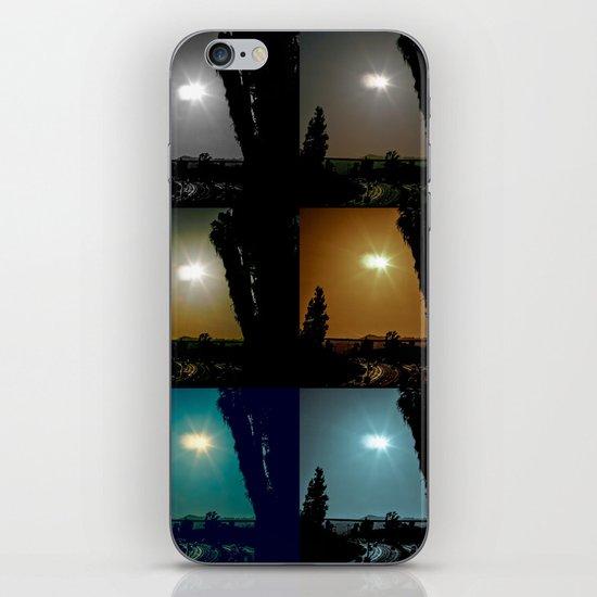 Ecliptical sun over Hollywood, CA iPhone & iPod Skin