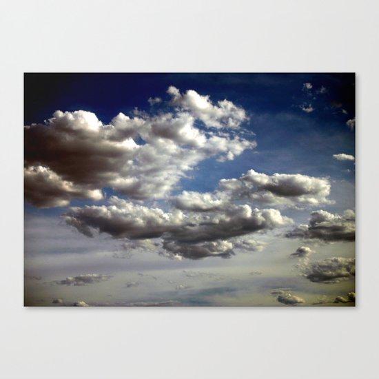 Cloud Formations Canvas Print