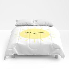 Sun Cute Eyes Comforters