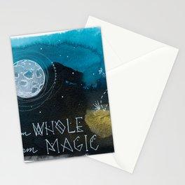 Whole Magic Moon Stationery Cards
